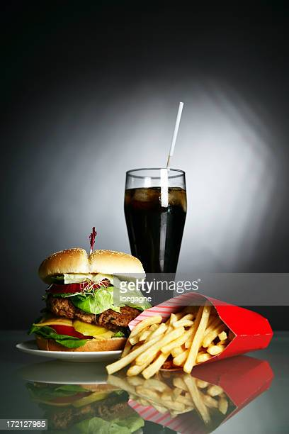 Burger, Cola and Fries