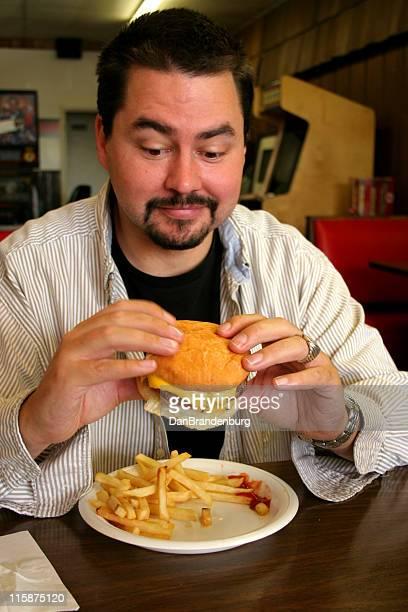 Burger Essen Guy