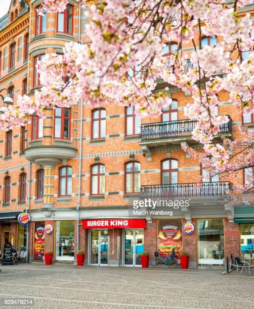 Burger King sur Jarntorget, à Göteborg