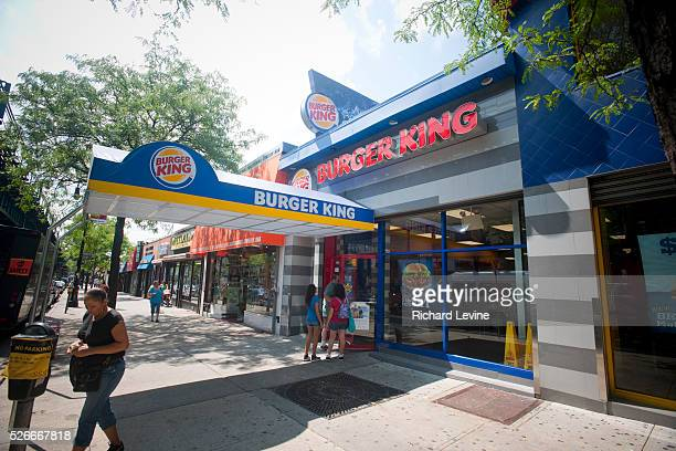 A Burger King fast food restaurant in the New York borough of the Bronx is seen on Thursday August 26 2010 Restaurant Brands International the parent...