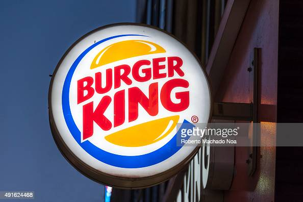 Burger King signage outside its restaurant in Toronto Burger King is a global chain of hamburger fast food restaurants headquartered in Florida...