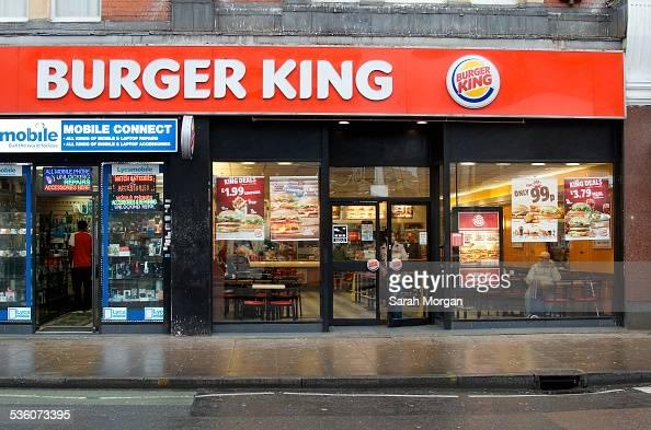 Burger King West Ealing London