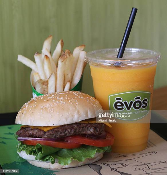 Burgers chicken tenders french fries and milk shakes aren't exactly health food But the idea behind Tampa Flabased EVOS is that diners can still...