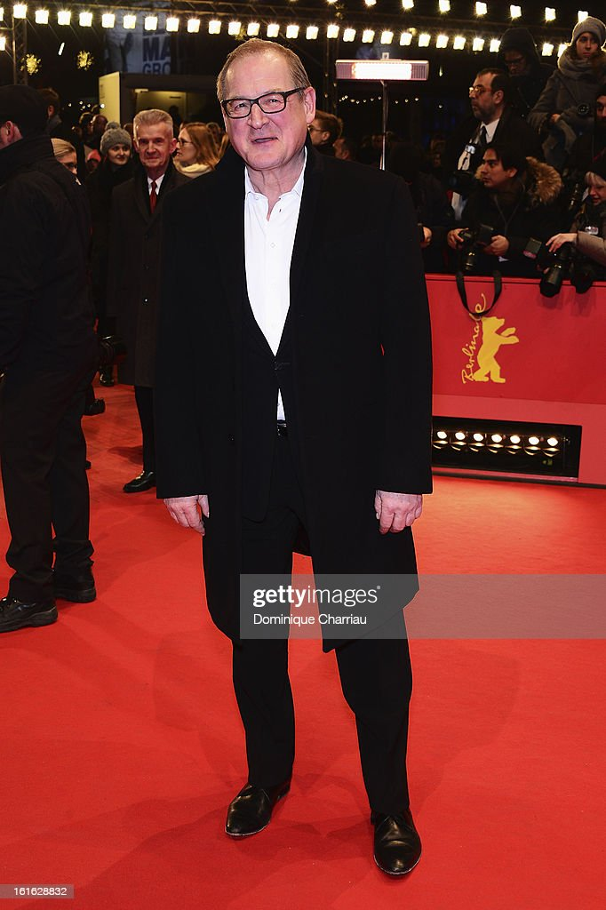Burghart Klaussner attends the 'Night Train to Lisbon' Premiere during the 63rd Berlinale International Film Festival at the Berlinale Palast on February 13, 2013 in Berlin, Germany.
