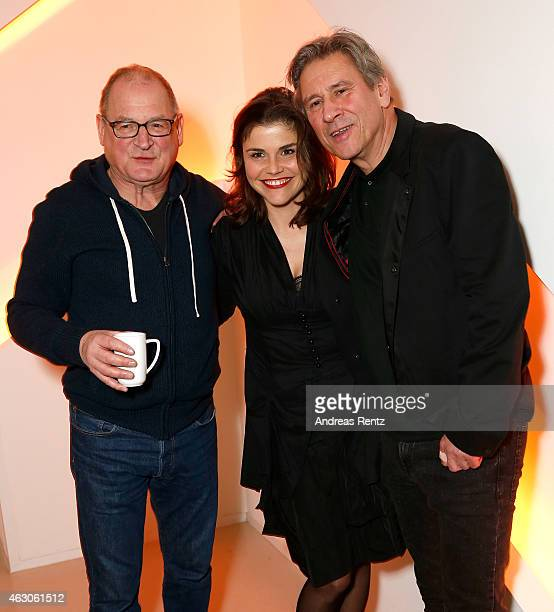 Burghart Klaussner Katharina Wackernagel and Michael Kind attend LOLA at the 65th Berlinale International Film Festival on February 6 2015 in Berlin...