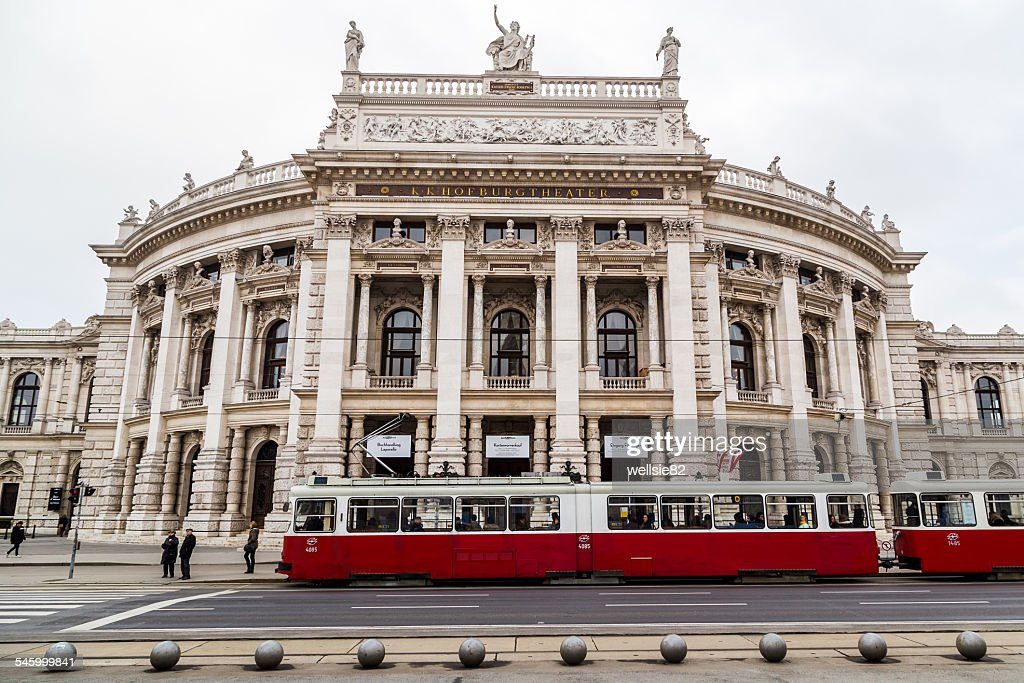 Burgtheater by day