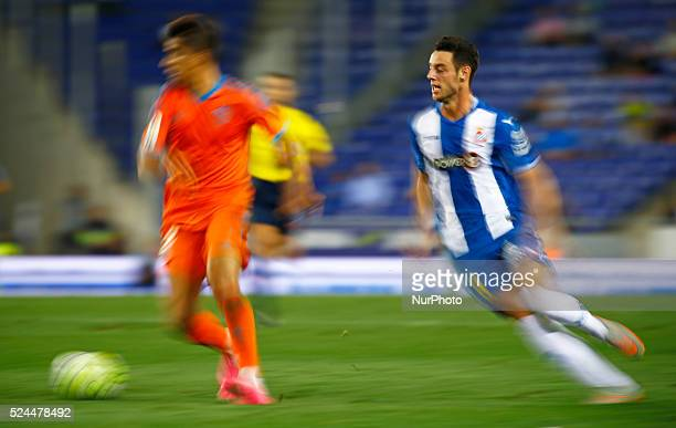 Burgui in the match between RCD Espanyol and Real Madrid CF corresponding to the week 5 of the spanish league played at the Power8 Stadium september...