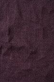 Burgundy hessian tablecloth