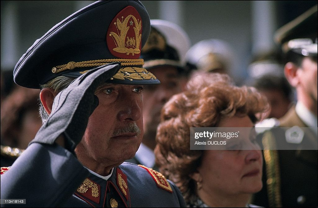 Burial of 4 guards killed in failed assassination attempt on <a gi-track='captionPersonalityLinkClicked' href=/galleries/search?phrase=Augusto+Pinochet&family=editorial&specificpeople=93107 ng-click='$event.stopPropagation()'>Augusto Pinochet</a> On September 10th, 1986 In Santiago,Chile