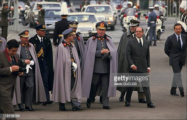 Burial of 4 guards killed in failed assassination attempt on Augusto Pinochet On September 10th 1986 In SantiagoChile