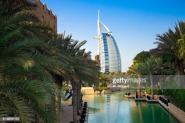 Burj Al Arab and Madinat Jumeirah, Dubai