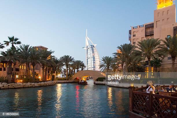 Hotel madinat jumeirah foto e immagini stock getty images for Hotel di dubai