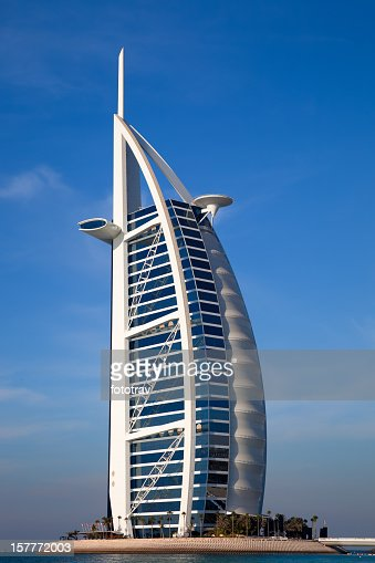 Burj al arab hotel stock photos and pictures getty images for Design luxushotel dubai