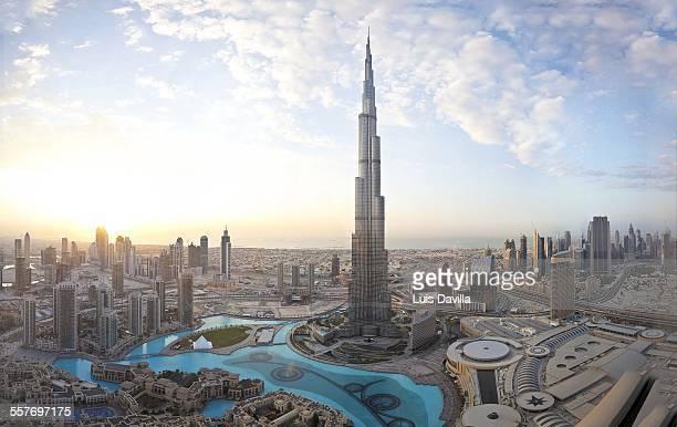 Burj khalifa building Dubai