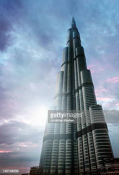 Burj Khalifa futuristic