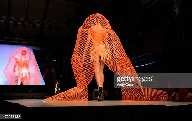 Inc/CAPCO Tile entry for the 2015 PretaPorter fashion show Future Undefined hosted by the International Interior Design Association Rocky Mountain...
