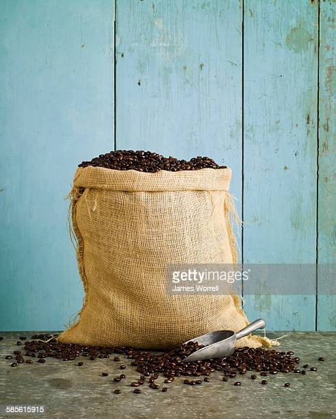Burlalp Bag of Coffee Beans with Scoop
