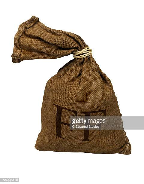 Burlap Sack of Money