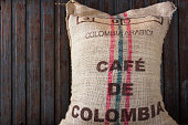 Coffee sack from colombia