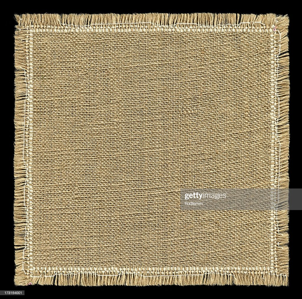 Burlap texture with full frame