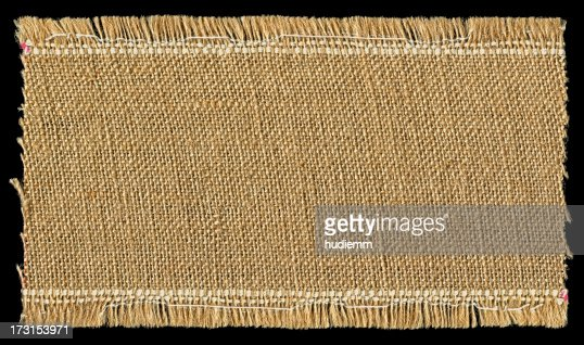 Burlap textured background with full frame