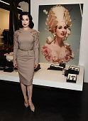 Dita Von Teese And Luxury Fragrance Brand Heretic...