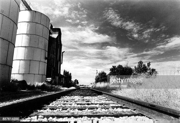 Burlington Northern Railroad Tracks by the Lafayette Grain Elevators Burlington Northern Railroad Colorado's largest carrier of coal and grain...
