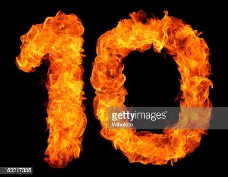 Burning 10