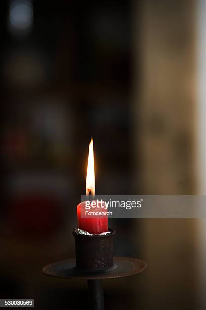 Burning candle