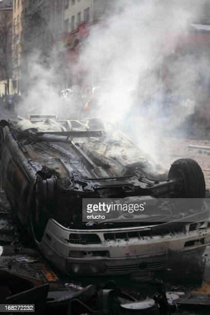 Burning de automóviles