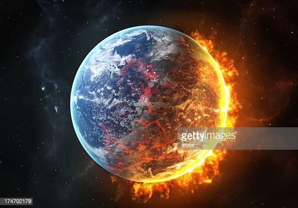 Bruciare terra