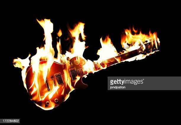 Brennen von e-Gitarre