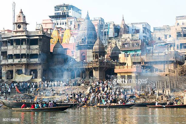 Burning Ghats, Varanasi, India