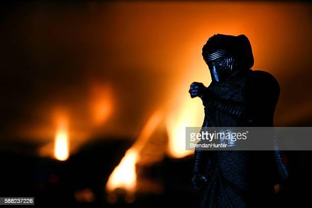 Burning Kylo
