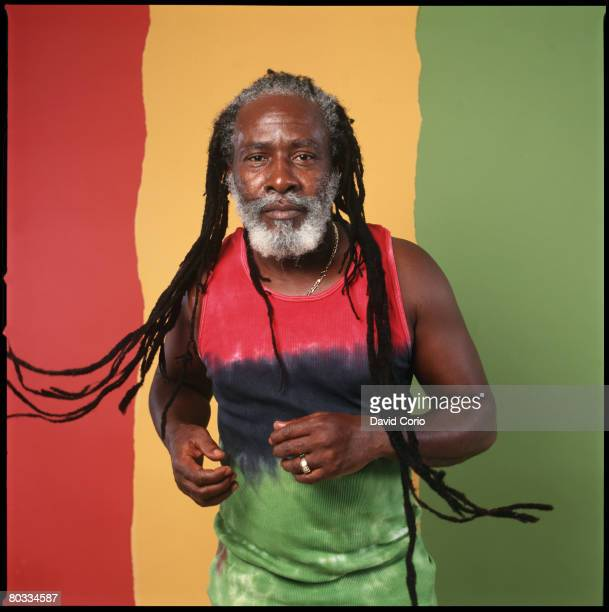 Burning Spear poses for a portrait during a photo session in 2000 in New York City New York