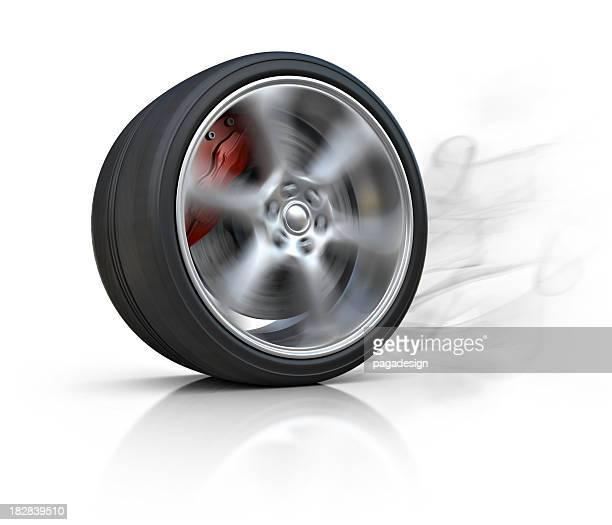 Brûler de pneu