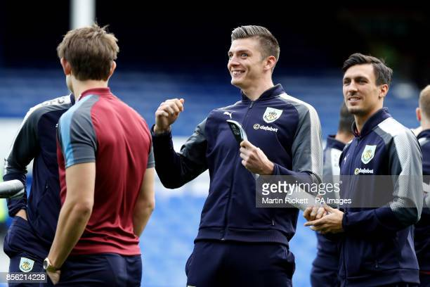 Burnley goalkeeper Nick Pope before the Premier League match at Goodison Park Liverpool