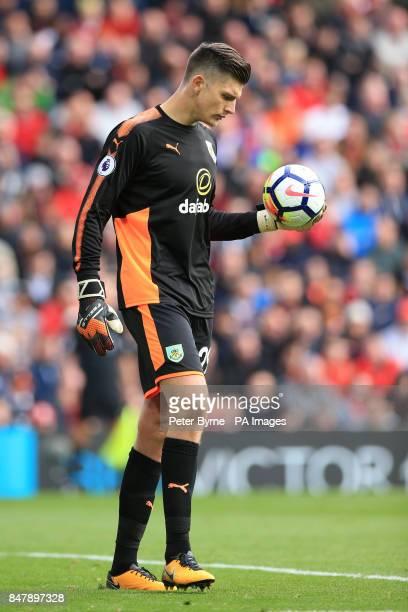 Burnley goalkeeper Nick Pope