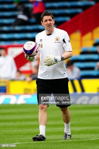 Burnley goalkeeping coach Phil Hughes