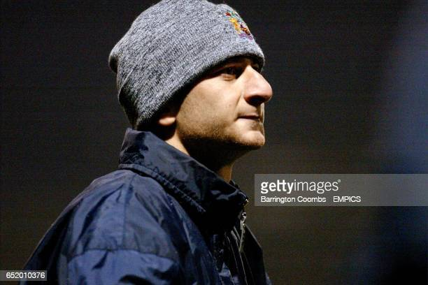 Burnley's Dimitrios Papadopoulos watches from the sideline