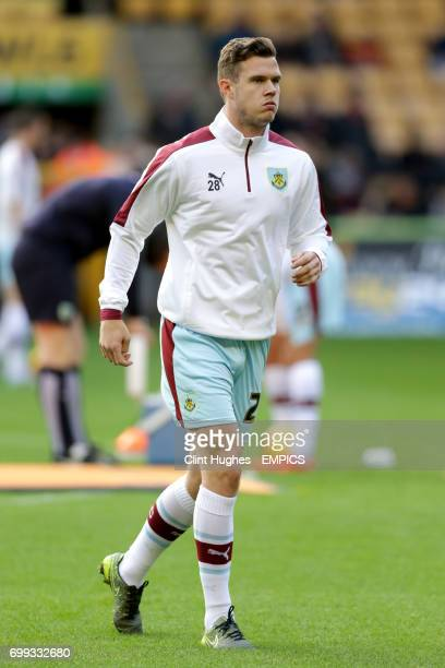 Burnley's Kevin Long during the warm up