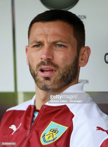 Burnley's Phil Bardsley during the preseason friendly match at Turf Moor Burnley PRESS ASSOCIATION Photo Picture date Saturday August 5 2017