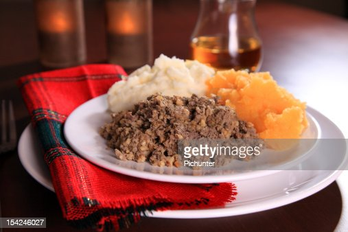 Burns Night Haggis : Stock Photo