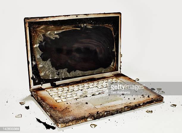 Burnt Laptop 01