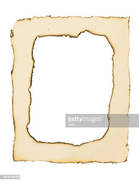 Papier brûlé