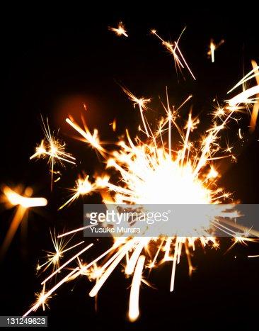 Bursting fiireworks, close up : Stock Photo