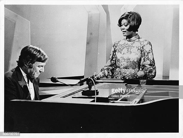 Burt Bacharach and Dionne Warwick USA May 5 1971