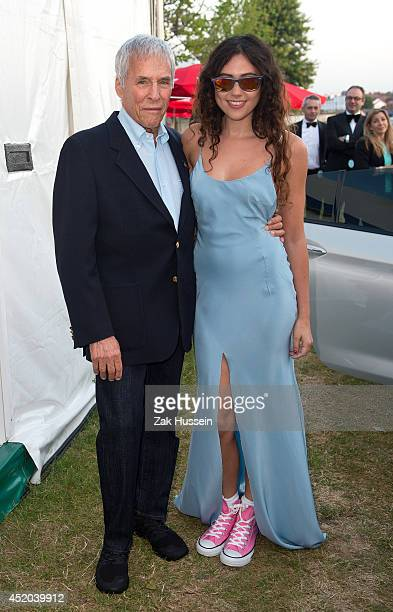 Burt Bacharach and Eliza Doolittle attend The Henley Festival on July 11 2014 in HenleyonThames England
