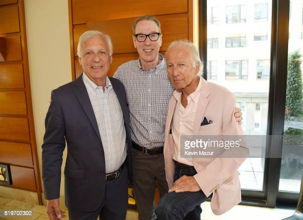 Burt Goldstein Larry Vallon Vice President AEG and Ron Delsener attend City of Hope's The New York Spirit Of Life Campaign kick off event honoring...