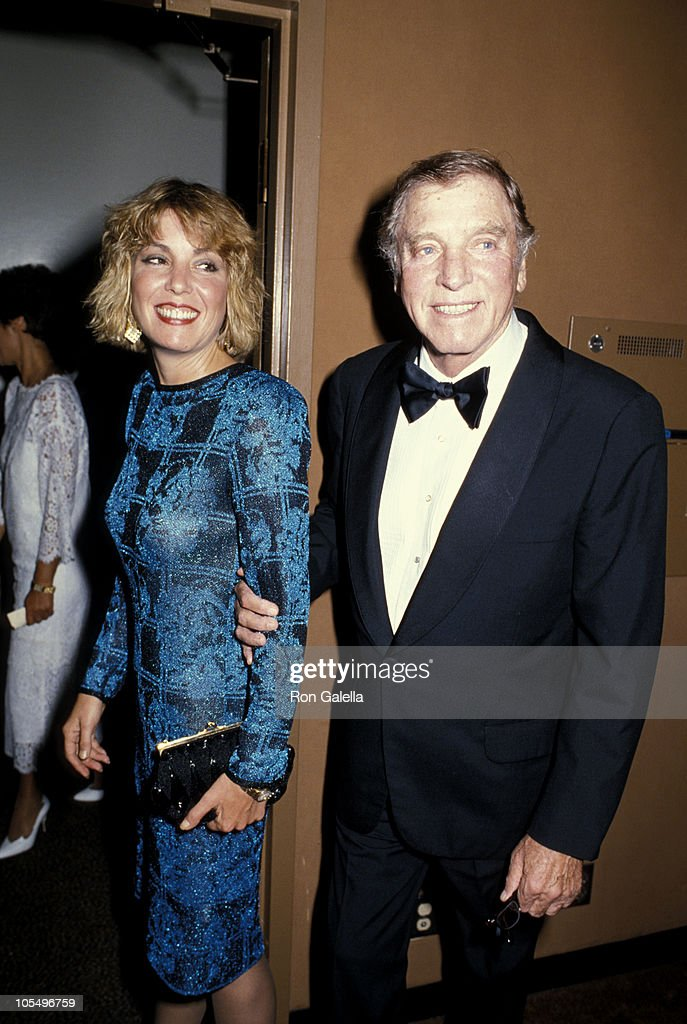 Burt Lancaster and daughter Joanna Lancaster during 1st Commitment to Life Awards at Bonaventure Hotel in Los Angeles, California, United States.